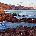 Ka'ena Point Oahu Sunset by Marcia Colelli