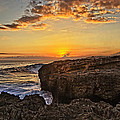 Kaena Point Sunset by Marcia Colelli