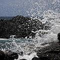 Ka'ena Point Surf by Sandy Swanson