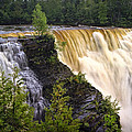 Kakabeka Falls On The Kaministiquia River by Randall Nyhof