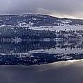 Sunset Kalamalka Lake - British Columbia by Ian Mcadie