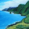Kalaupapa Peninsula by Kristine Griffith