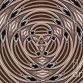 Kaleidoscope 18 by Ron Bissett