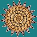 Kaleidoscope 7 by Ron Bissett
