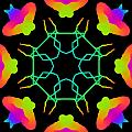 Kaleidoscope Drawing by Bruce Nutting