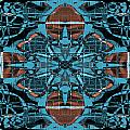 Kaleidoscope Flower 2 by Steve Ball
