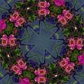 Kaleidoscope Lantana Wreath by Cathy Lindsey