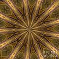 Kaleidoscope With Gold by Deborah Benoit