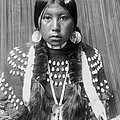 Kalispel Indian Woman Circa 1910 by Aged Pixel
