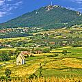 Kalnik Mountain Green Hills Scenery by Brch Photography