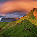 Kalsoy Island And Kallur Lighthouse by Panoramic Images