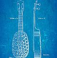 Kamaka Ukulele Patent Art 1928 Blueprint by Ian Monk