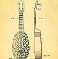 Kamaka Ukulele Patent Art 1928 by Ian Monk