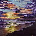 Kamehameha Iki Park Sunset by Darice Machel McGuire