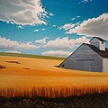 Kamiak In Summer by Leonard Heid