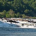 Kanawah Falls I - Spring by Paulette B Wright