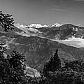Kanchenjunga Monochrome by Steve Harrington