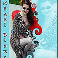 Kandi Blaze Poster 1 by Brian Graybill