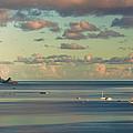 Kaneohe Bay Panorama Mural 3 Of 5 by Dan McManus