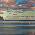 Kaneohe Bay Panorama Mural by Dan McManus