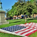 Kankakee Union Soldiers Memorial by Don Baker