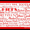 Kansas City Chiefs Game Day Food 2 by Andee Design