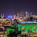 Kansas City In Lights by Terri Morris