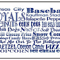 Kansas City Royals Game Day Food 3 by Andee Design