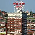 Kansas City - Western Auto Building 2 by Frank Romeo