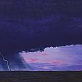 Kansas Lightning Storm by Garry McMichael