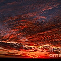 Kansas Prairie Sunset by RT Phillips