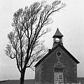 Kansas Schoolhouse by Crystal Nederman