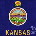 Kansas State Flag by Pixel Chimp