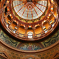 Kansas Statehouse by Betty Morgan