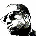 Kanye West by Fli Art