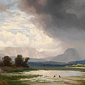 Karawanks Landscape by Ignaz Raffalt