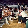 Kareem Abdul Jabbar Resting by Retro Images Archive