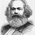 Karl Marx  German Radical Political by  Illustrated London News Ltd/Mar