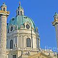 Karlskirche - Vienna by Ann Horn