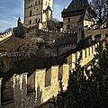 Karlstejn Castle Color by Joan Carroll