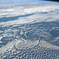 Karman Vortex Cloud Streets From Space by Science Source