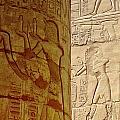 Karnak Temple Detail by Antony McAulay