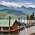 Kaslo At Kootenay Lake, British by Witold Skrypczak