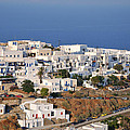 Kastro Village In Sifnos Island by George Atsametakis