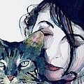 Kate And Her Cat by Paul Lovering