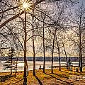 Katepwa Lake In Saskatchewan by Viktor Birkus