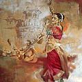 Kathak Dancer 8 by Corporate Art Task Force
