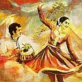 Kathak Dancer by Catf