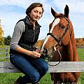 Katherine Pal 15 by Life With Horses