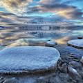 Kathleen Lake And Mount Worthington by Robert Postma